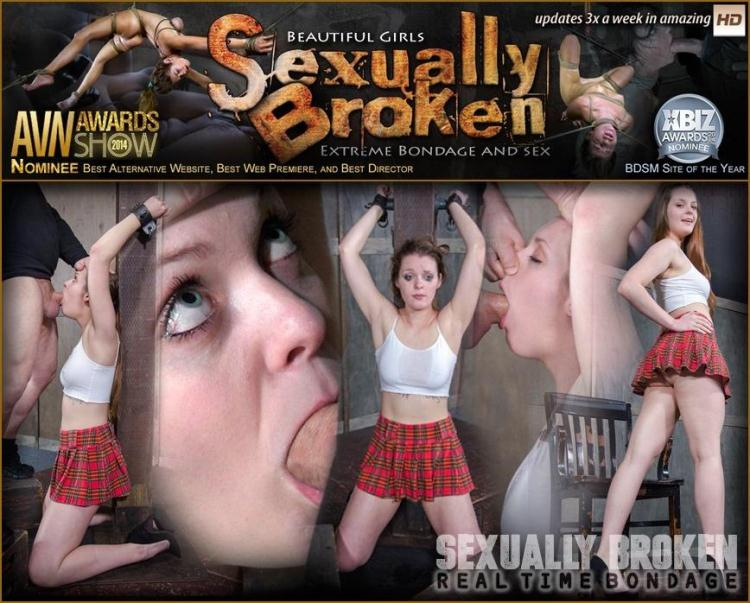 Nora Riley our local college girl, did a LIVE SHOW! Complete Sexual Destruction ensued! / 28.11.2016 [Real Time Bondage, Sexually Broken / HD]