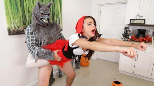 D0ntBr34kM3.com [Kharlie Stone - Brunette Spinner Fucks on Halloween] SD, 480p
