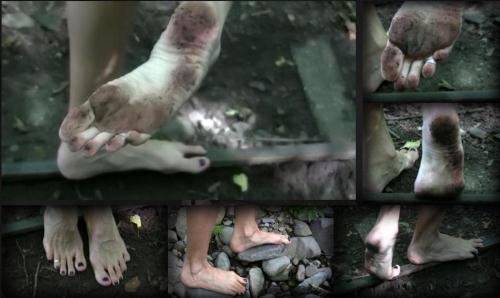 Barefot Trip [HD, 720p] [Qu33nSn4k3.com] - Foot Fetish