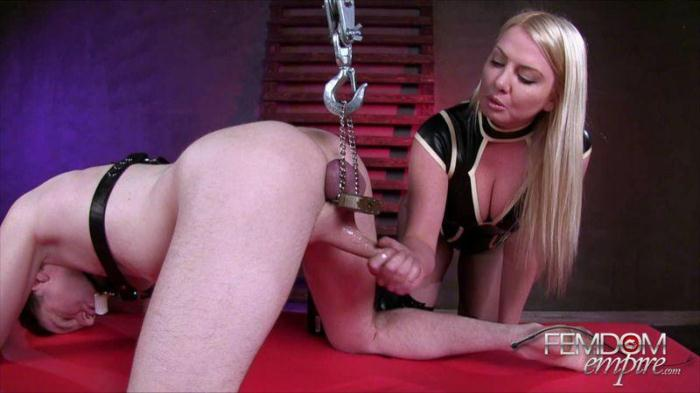 Lexi Sindel - Drained Slave Balls (F3md0m3mp1r3) HD 720p