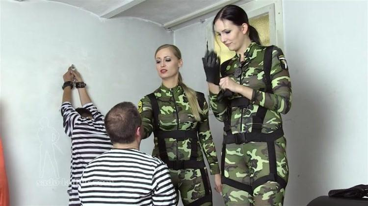 Interrogating The Smugglers - Part 1 / 14 November 2016 [SADO-LADIES, Clips4sale / HD]