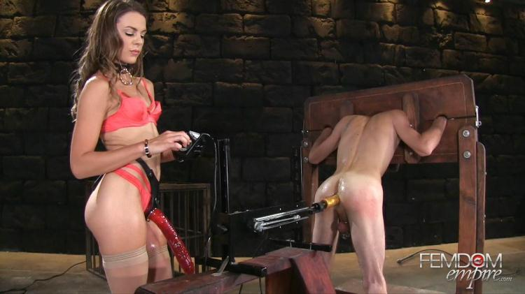 Ally Tate - Strap-on Size Queen / 05.11.2016 [FemdomEmpire / FullHD]