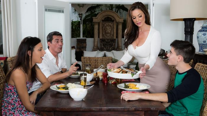 MilfsLikeItBig/Brazzers: Kendra Lust - Kendras Thanksgiving Stuffing  [SD 480p]  (Big tit)