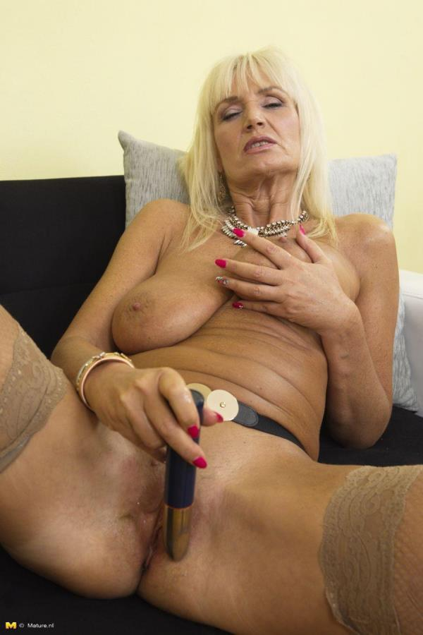 Roxanna C. (57) Horny housewife fooling around [Mature.nl 1080p]