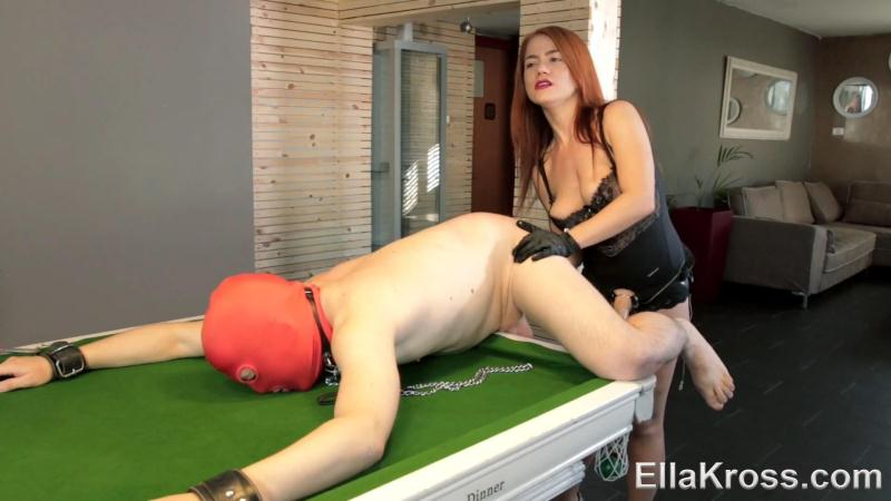 3ll4Kr0ss.com: Lazy Slave Punished with My Huge Strap-On! [FullHD] (355 MB)