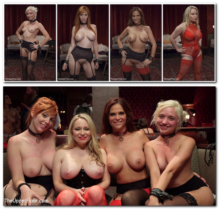 TheupperFloor/Kink: Syren de Mer, Eliza Jane , Aiden Starr, Lauren Phillips - The Fantastic Fucking Folsom Orgy Pt. 2  [SD 540p]  (BDSM)