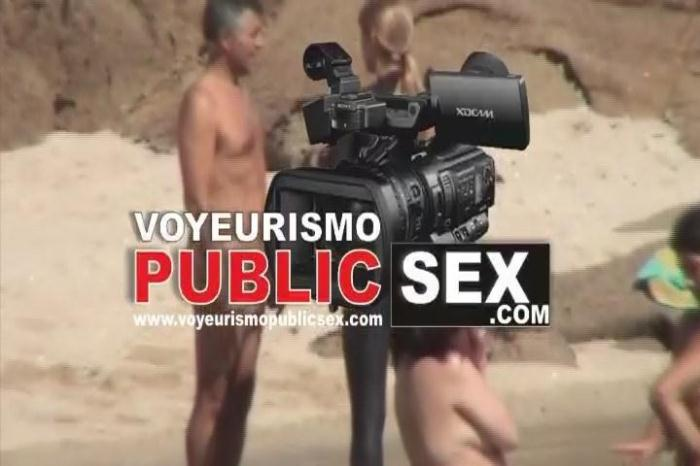 Videospublicsex.com - The Galician Beaches 02 (Voyeur) [SD, 480p]