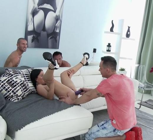 LegalPorno - Lucia Denvile - Made her boyfriend watch how she fucks with 4 guys [SD 480p]