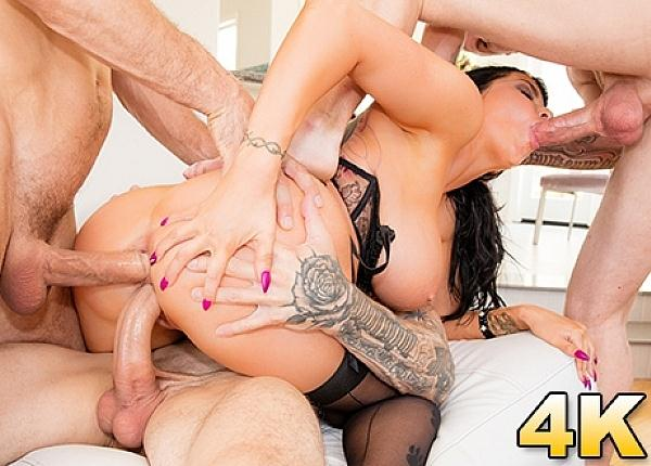 Jul3sJ0rd4n: Romi Rain - Group sex (SD/360p/286 MB) 06.11.2016