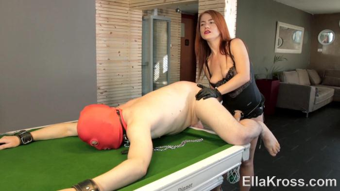 Lazy Slave Punished with My Huge Strap-On! (3ll4Kr0ss) FullHD 1080p