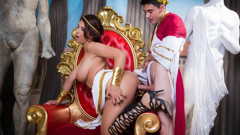 BigTitsAtSchool/Brazzers: Ayda Swinger - Big Tits In History: Part 2  [SD 480p] (404 MiB)