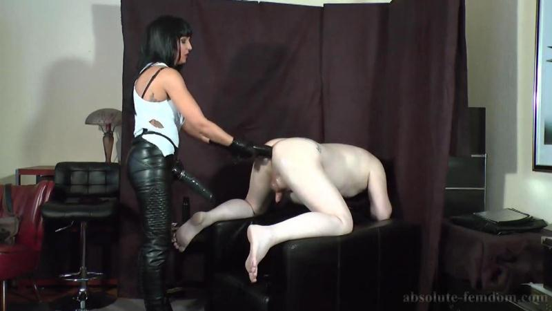 Absolute-Femdom.com: Gothic Bitch Fucks Your Ass [HD] (577 MB)