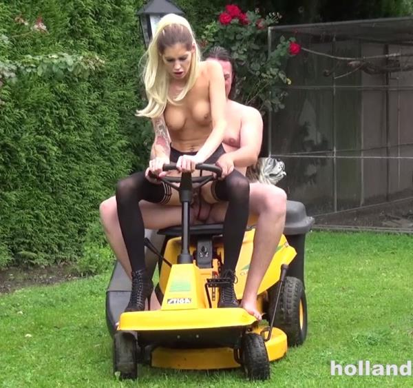 Mandy Slim - Hardcore Op De Tuinman Met Mandy Slim (2016/HD)