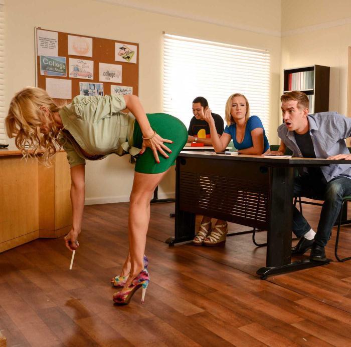 BigTitsAtSchool/Brazzers: Alexis Fawx,Bailey Brooke - College Dreams  [HD 720p]  (Threesome)