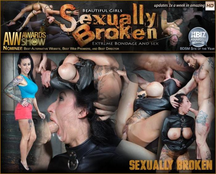 SexuallyBroken: Lily Lane is our new ALT big titted tan slut who can take a dick like a champ! Bondage and rough sex (HD/720p/534 MB) 01.11.2016