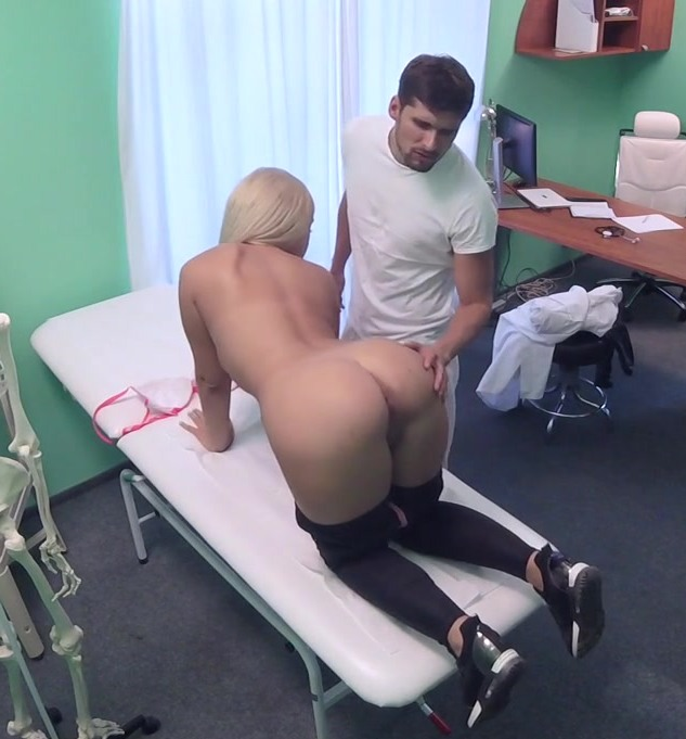 FakeHospital: Briana Bounce - Buxom Russian Babe Swallows Cumload  [HD 720p] (715 MiB)