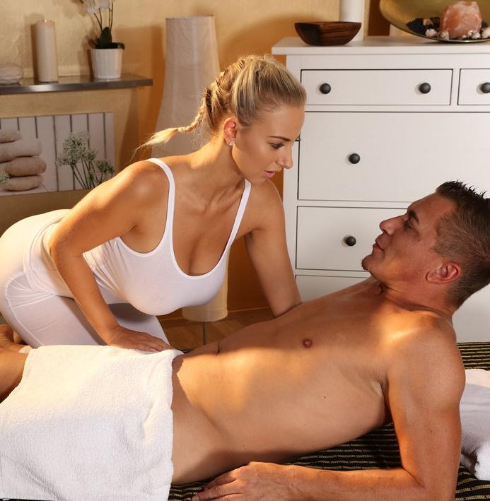 MassageRooms/SexyHub - Nathaly Cherie [Big boobs blonde fucks big dick] (SD 480p)
