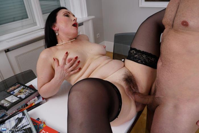 Ilsa S. (50) - Naughty housewife goes wild [FullHD 1080p] Mature.nl