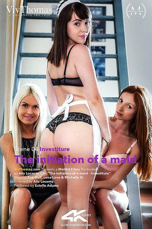 V1vTh0m4s.com: Lena Love, Michelle H, Zoe Doll - The Initiation of a Maid Episode 4 - Investiture [FullHD] (1.38 GB)