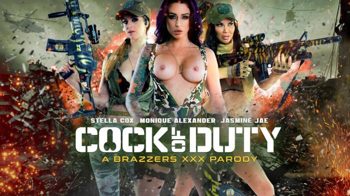 PornstarsLikeItBig/Brazzers: Jasmine Jae, Monique Alexander, Stella Cox - Cock Of Duty: A XXX Parody  [SD 480p]  (Big Tit)