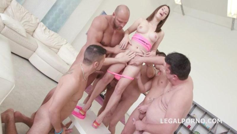 LegalPorno.com: Gabriella 7on1 Sperma party with 12 cumshot. No Pussy /Ball Deep Anal /Dap /Gapes GIO263 [SD] (901 MB)