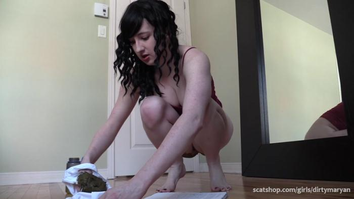 Shitting in her panties for her sibling (Scat Porn) FullHD 1080p