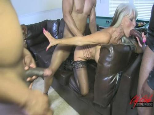 [Sally D\'Angelo - Black Balled At The Bachelor Party Gangbang] SD, 480p