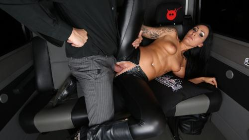 BumsBus.com / P0rnD03Pr3m1um.com [Mira Grey - Horny tattooed German Mira Grey enjoys wild fuck and facial in the van] SD, 480p