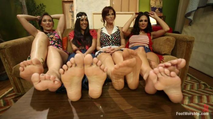 Kirsten Price, Syren de Mer, Sinn Sage, Lyla Storm - Step Mom Foot Fuck (FootWorship) HD 720p