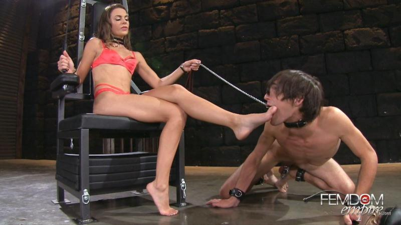 F3md0m3mp1r3.com: Ally Tate - Demanding Goddess Feet [FullHD] (931 MB)