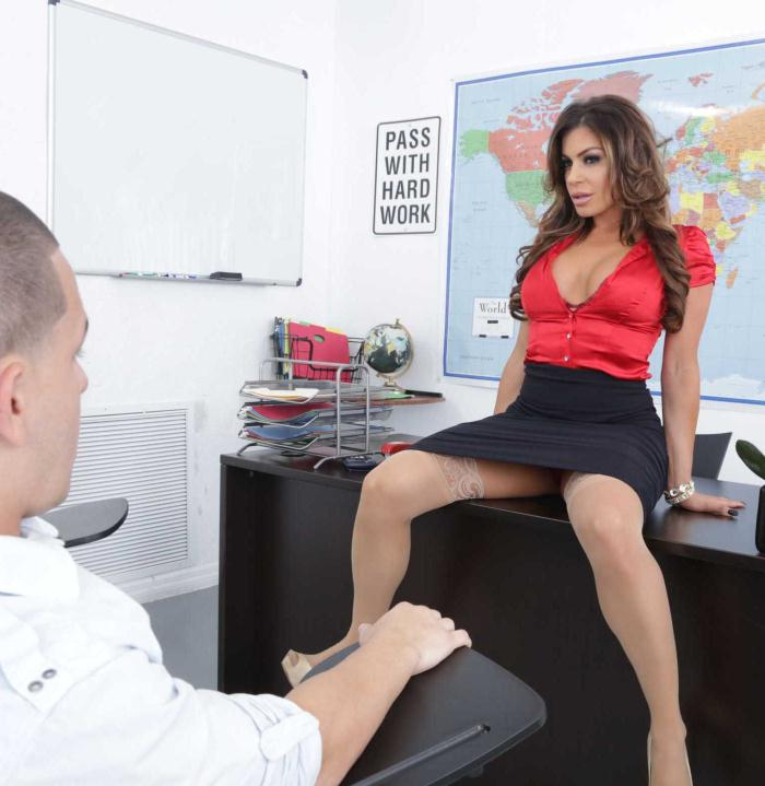 MyFirstSexTeacher/Naughtyamerica: Nikki Capone - My First Sex Teacher  [HD 720p]  (Milf)