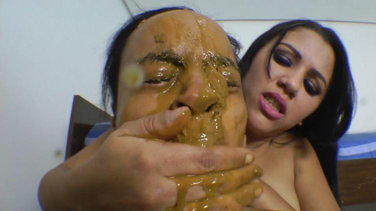 Aline Cruel - Scat Real Swallow / 02 Nov 2016 [SG-Video / FullHD]