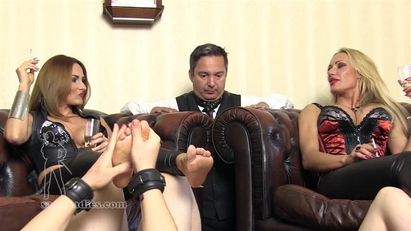 (Slave / MP4) HOW LORDLY LADIES RELAX SADO-LADIES.com - FullHD 1080p