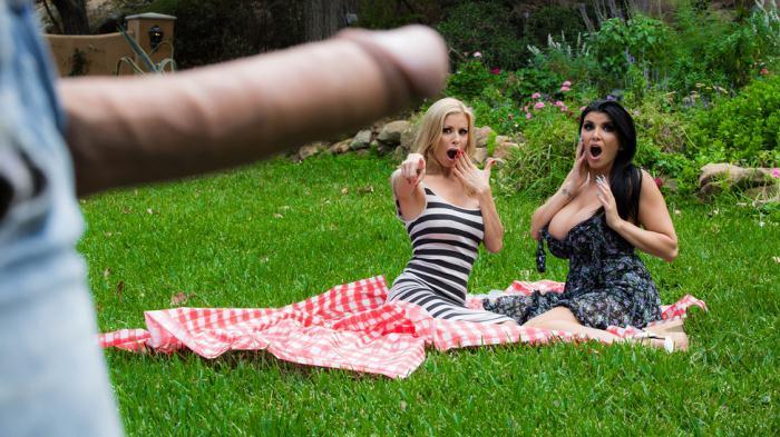 Alexis Fawx, Romi Rain ~ Pervert In The Park ~ Brazzers ~ SD ~ 480p