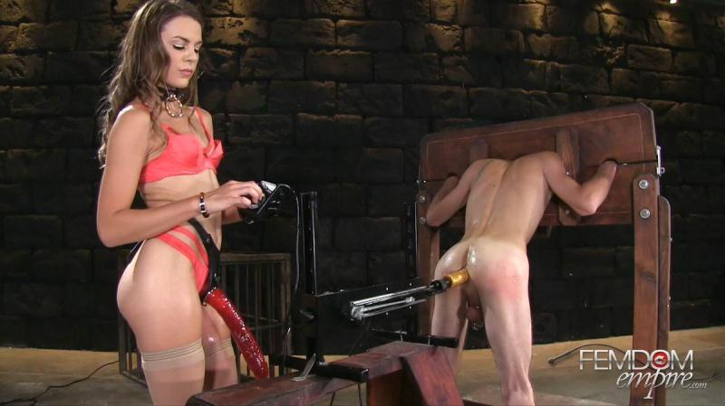 F3md0m3mp1r3.com: Ally Tate - Strap-on Size Queen [FullHD] (1.13 GB)