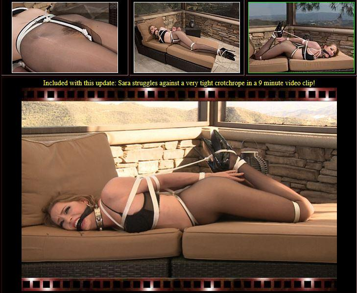 BondageCafe.com: Sara Liz - Long on Legs (E0901) [HD] (265 MB)