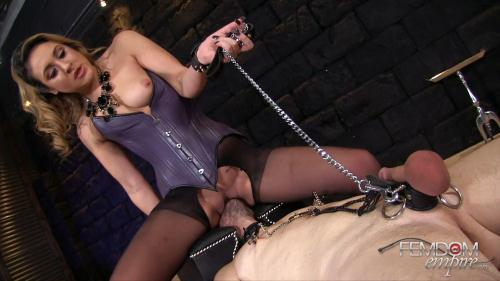 FE [Mistress Kylie Kalvetti - Pain Gives Pleasure] FullHD, 1080p