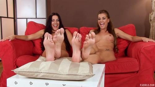 PJGirls.com [Eveline Dellai, Silvia Dellai - Dellai Twins Comparison] FullHD, 1080p
