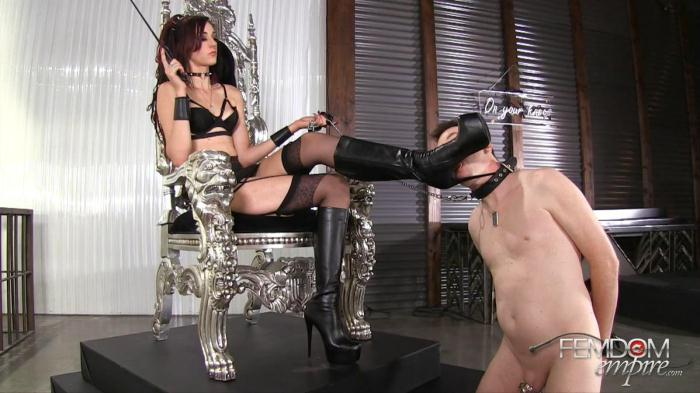 Lick Amazon Boots (F3md0m3mp1r3) FullHD 1080p