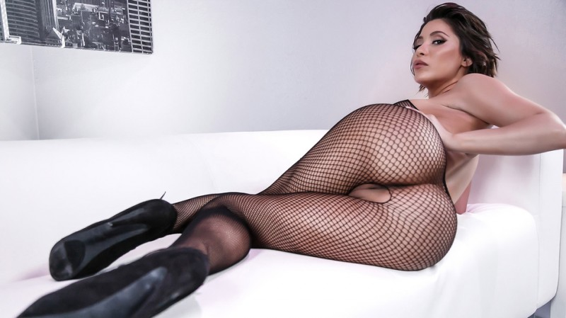 Aleksa Nicole ~  Fuck My Fishnets  ~  BigWetButts ~  SD 480p