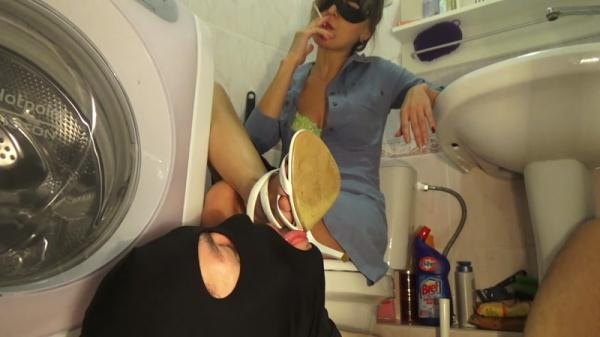 Living in the toilet of Mistress Emily - Femdom Scat (FullHD 1080p)