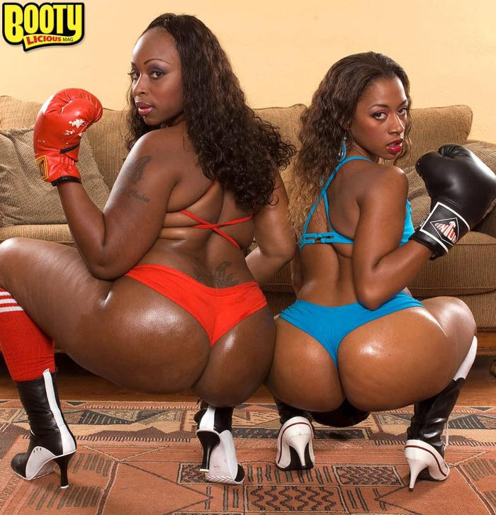 BootyLiciousMag/PornMegaLoad: Ms Juicy, Skyy Black - Double the Bubble-Anal Orgy  [FullHD 1080p]