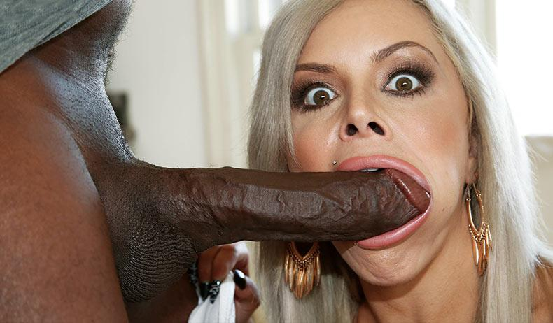 BlacksOnBlondes.com: Nina Elle - Interracial [SD] (342 MB)