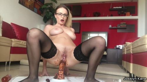 Scat [Dirty Skype Show Example - Anal Fisting] FullHD, 1080p
