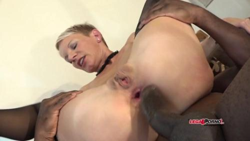LegalPorno.com [French MILF Mia Wallace hard interracial double anal and DP IV012] SD, 480p