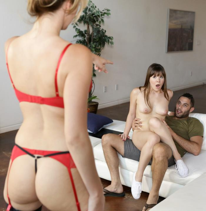 Nubiles-Porn: Alison Rey - Picked Up By Teacher   [HD 720p]  (Threesome)