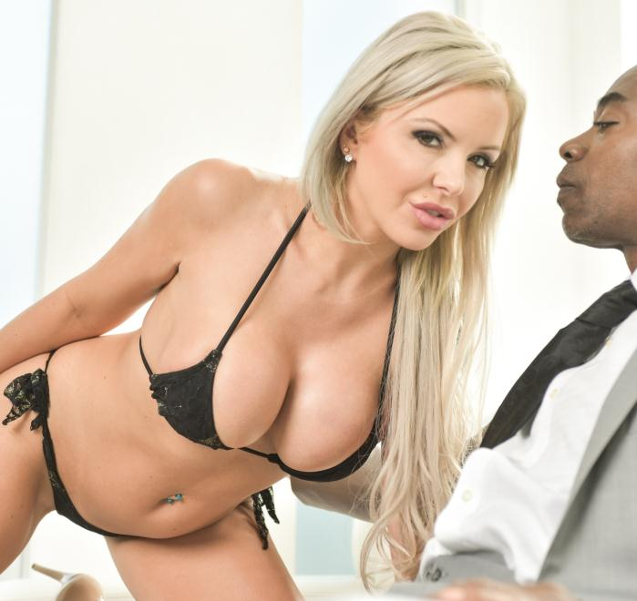 DarkX: Nina Elle - Blonde And Busty MILF  [HD 720p]
