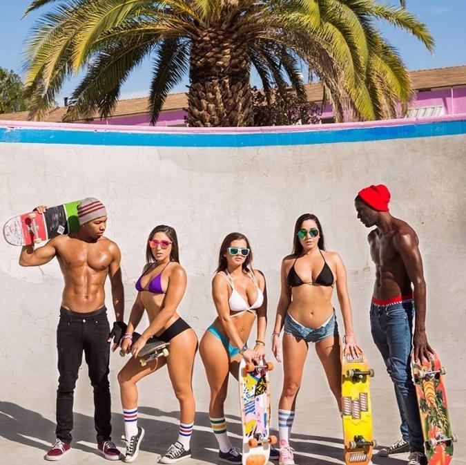 Blacked: Abella Danger, Keisha Grey, Karlee Grey - Squad Goals  [SD 480p]