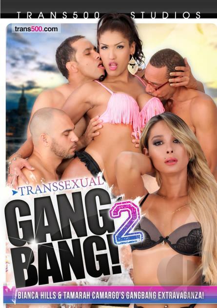 Trans 500 Studios: Tamarah Camargo, Bianca Hills - Transsexual Gang Bang! 2 [DVDRip 406p]