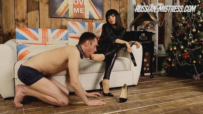 Gabriella - Foot Fetish (Russ14n-M1str3ss) HD 720p